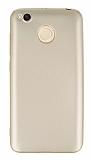 Xiaomi Redmi 4X Mat Gold Silikon Kılıf