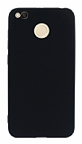 Xiaomi Redmi 4X Mat Siyah Silikon Kılıf