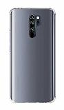 Xiaomi Redmi 9 Ultra İnce Şeffaf Silikon Kılıf