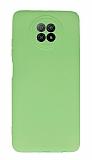 Xiaomi Redmi Note 9 5G Kamera Korumalı Yeşil Silikon Kılıf