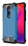 Tough Power Xiaomi Mi 9T Ultra Koruma Mavi Kılıf