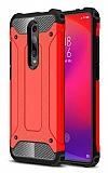 Tough Power Xiaomi Mi 9T Ultra Koruma Kırmızı Kılıf