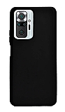 Xiaomi Redmi Note 10 Pro Siyah Silikon Kılıf