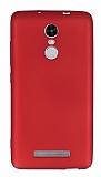Xiaomi Redmi Note 3 Mat Kırmızı Silikon Kılıf