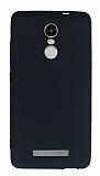 Xiaomi Redmi Note 3 Mat Siyah Silikon Kılıf