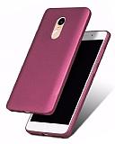 Xiaomi Redmi Note 4 / Redmi Note 4X Mat Mürdüm Silikon Kılıf