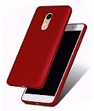 Xiaomi Redmi Note 4 / Redmi Note 4X Mat Bordo Silikon Kılıf
