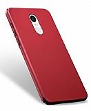 Xiaomi Redmi Note 4 / Redmi Note 4X Tam Kenar Koruma Bordo Rubber Kılıf