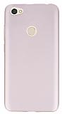 Xiaomi Redmi Note 5A Prime Mat Rose Gold Silikon Kılıf