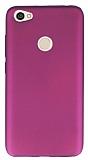 Xiaomi Redmi Note 5A Prime Mat Mürdüm Silikon Kılıf