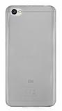 Xiaomi Redmi Note 5A Ultra İnce Şeffaf Siyah Silikon Kılıf