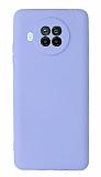 Xiaomi Mi 10T Lite Kamera Korumalı Lila Silikon Kılıf