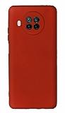 Xiaomi Mi 10T Lite Kamera Korumalı Bordo Silikon Kılıf