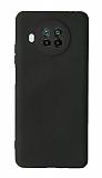 Xiaomi Mi 10T Lite Kamera Korumalı Siyah Silikon Kılıf