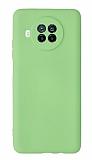 Xiaomi Mi 10T Lite Kamera Korumalı Yeşil Silikon Kılıf