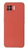 Oppo A73 Kamera Korumalı Kırmızı Silikon Kılıf
