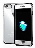 Xundd Armor Series iPhone 7 / 8 360 Derece Koruma Siyah Kenarlı Silikon Kılıf