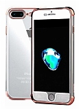 Xundd Armor Series iPhone 7 Plus / 8 Plus 360 Derece Koruma Rose Gold Silikon Kılıf