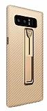 Xundd Vision Series Samsung Galaxy Note 8 Karbon Gold Silikon Kılıf
