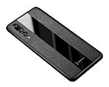 Zebana Huawei P20 Pro Premium Siyah Deri Kılıf