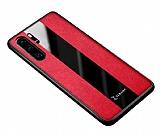 Zebana Huawei P30 Pro Premium Kırmızı Deri Kılıf