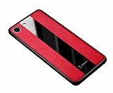 Zebana iPhone 7 / 8 Premium Kırmızı Deri Kılıf
