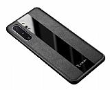 Zebana Samsung Galaxy Note 10 Plus Premium Siyah Deri Kılıf