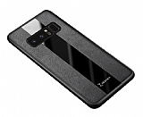 Zebana Samsung Galaxy Note 8 Premium Siyah Deri Kılıf