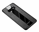 Zebana Samsung Galaxy Note 9 Premium Siyah Deri Kılıf
