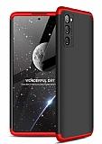 Zore GKK Ays Samsung Galaxy S20 FE 360 Derece Koruma Kırmızı-Siyah Rubber Kılıf