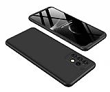 Zore GKK Ays Samsung Galaxy A32 4G 360 Derece Koruma Siyah-Kırmızı Rubber Kılıf