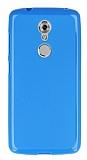 ZTE AXON 7 Mini Mavi Silikon Kılıf