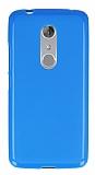 ZTE Axon 7 Mavi Silikon Kılıf