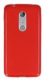 ZTE Axon 7 Kırmızı Silikon Kılıf