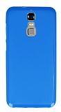 ZTE Blade A610 Plus Mavi Silikon Kılıf