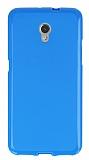 ZTE Blade V7 Mavi Silikon Kılıf