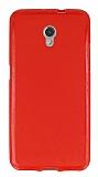 ZTE Blade V7 Kırmızı Silikon Kılıf