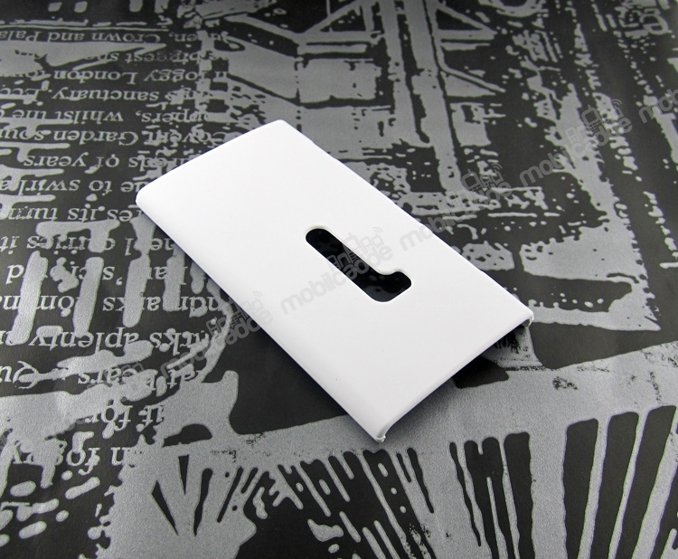 Nokia Lumia 920 Sert Mat Beyaz Rubber Kılıf