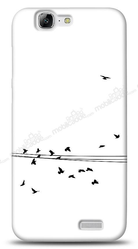 Huawei Ascend G7 Flying Birds Kılıf