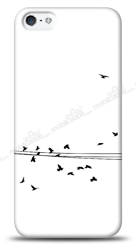 iPhone SE / 5 / 5S Flying Birds Kılıf
