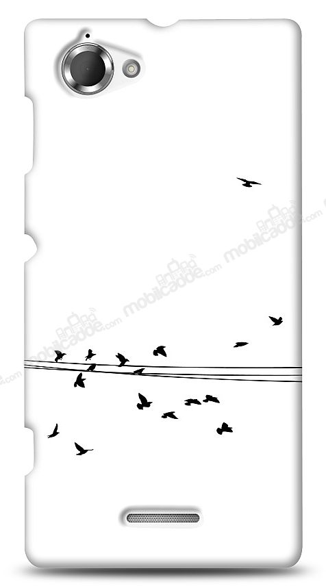 Sony Xperia L Flying Birds Kılıf