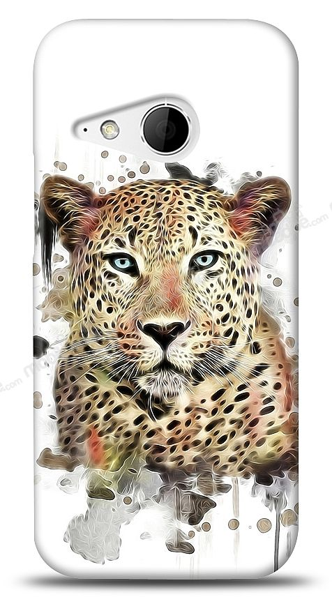 HTC One mini 2 Leopard Kılıf