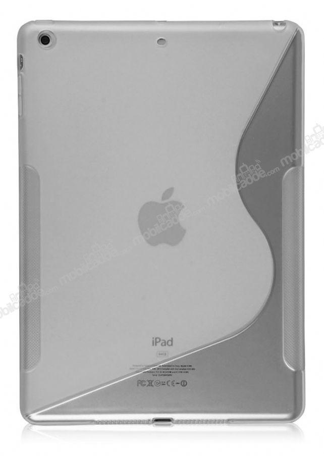 apple ipad air desenli effaf silikon k l f cretsiz kargo. Black Bedroom Furniture Sets. Home Design Ideas