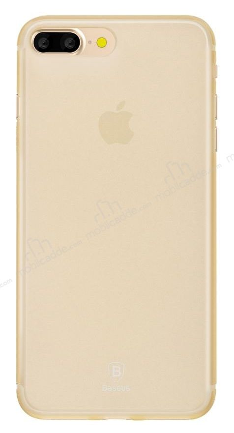 Baseus Frosting iPhone 7 Plus Ultra İnce Gold Rubber Kılıf