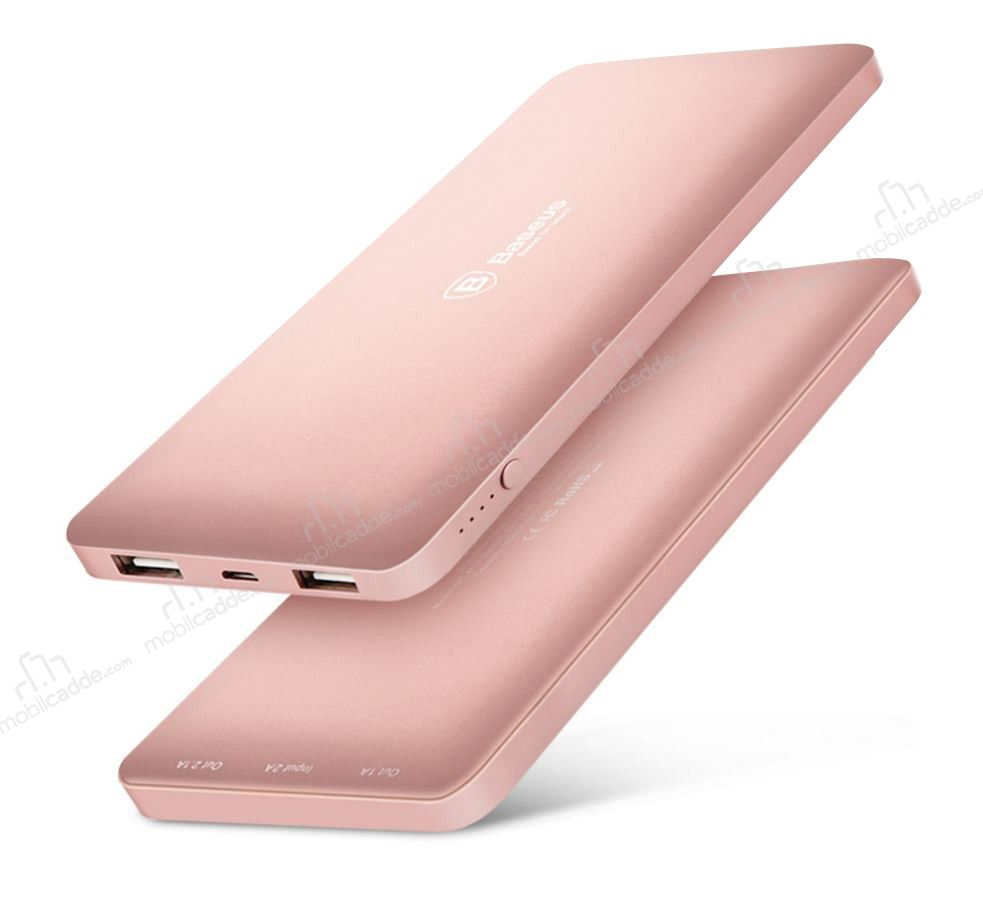 Baseus Galaxy Series 10000 mAh Powerbank Rose Gold Yedek Batarya