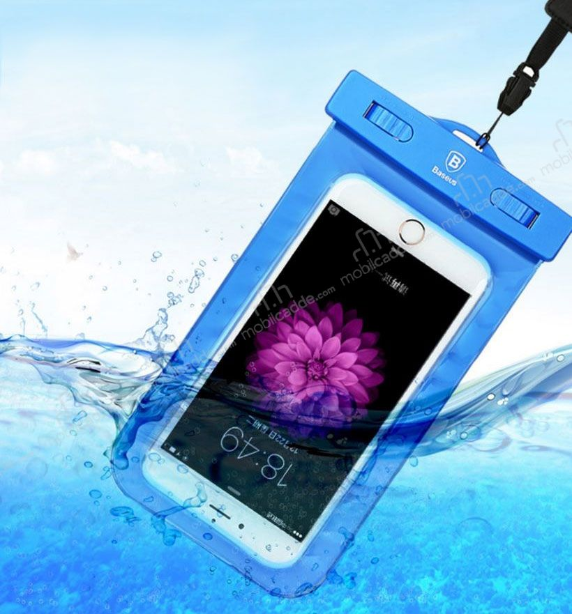 Baseus Universal Su Geçirmez Turuncu Cep Telefonu Kılıfı