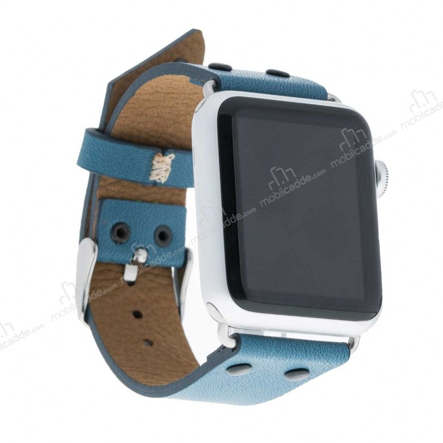 Bouletta Apple Watch Gerçek Deri Kordon BRN4 (38 mm)