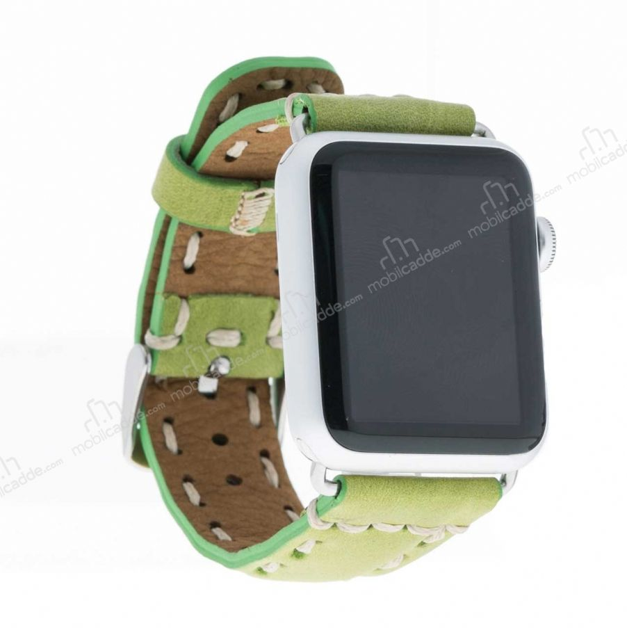 Bouletta Apple Watch Gerçek Deri Kordon G16 (38 mm)