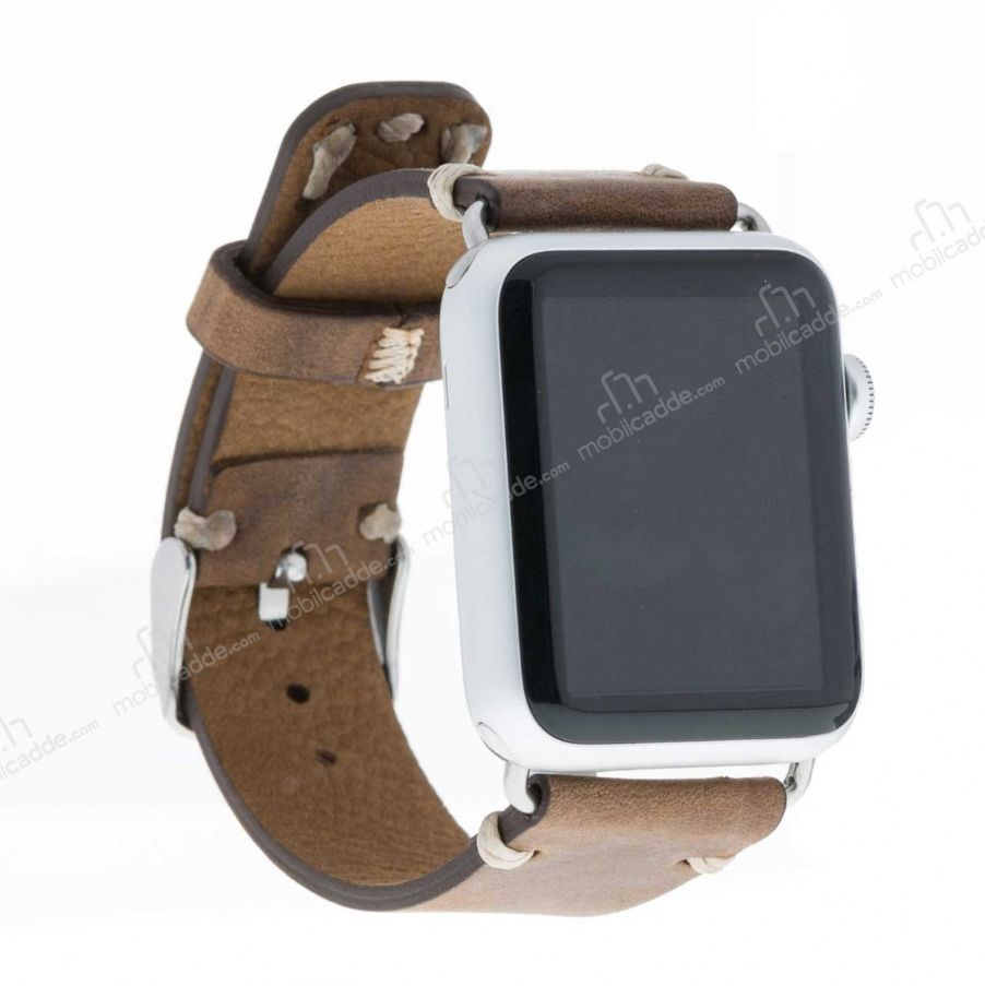 Bouletta Apple Watch / Watch 2 Gerçek Deri Kordon G6 (38 mm)