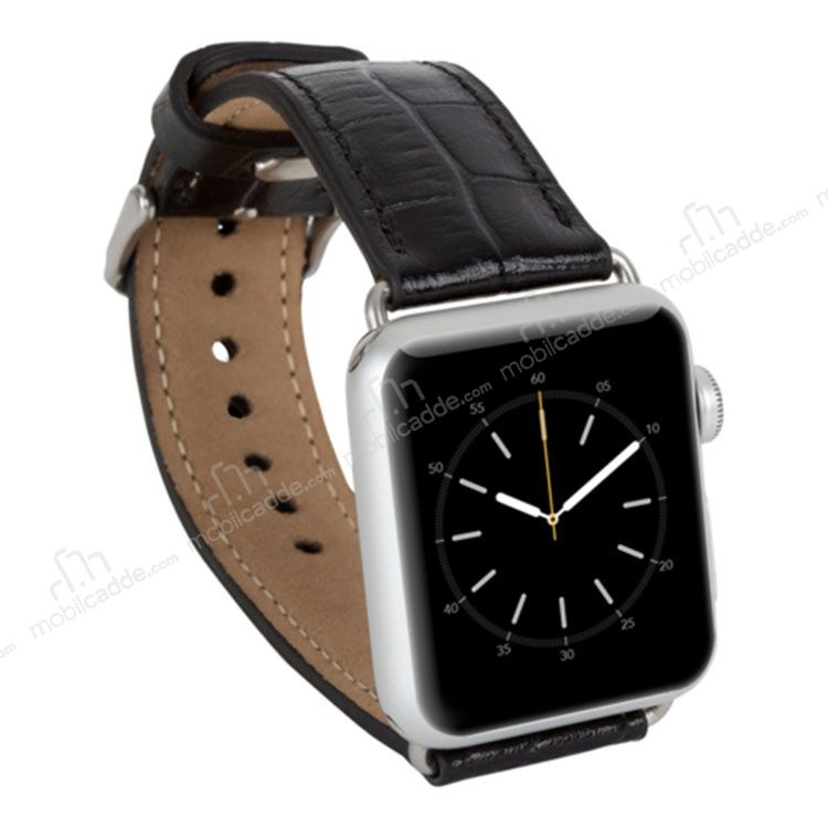 Bouletta Apple Watch Gerçek Deri Kordon K1 (42 mm)